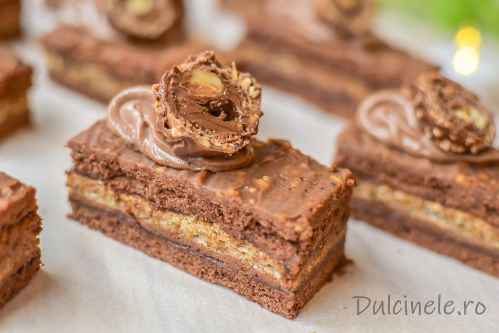 Prăjitură Ferrero Rocher | Dulcinele.ro