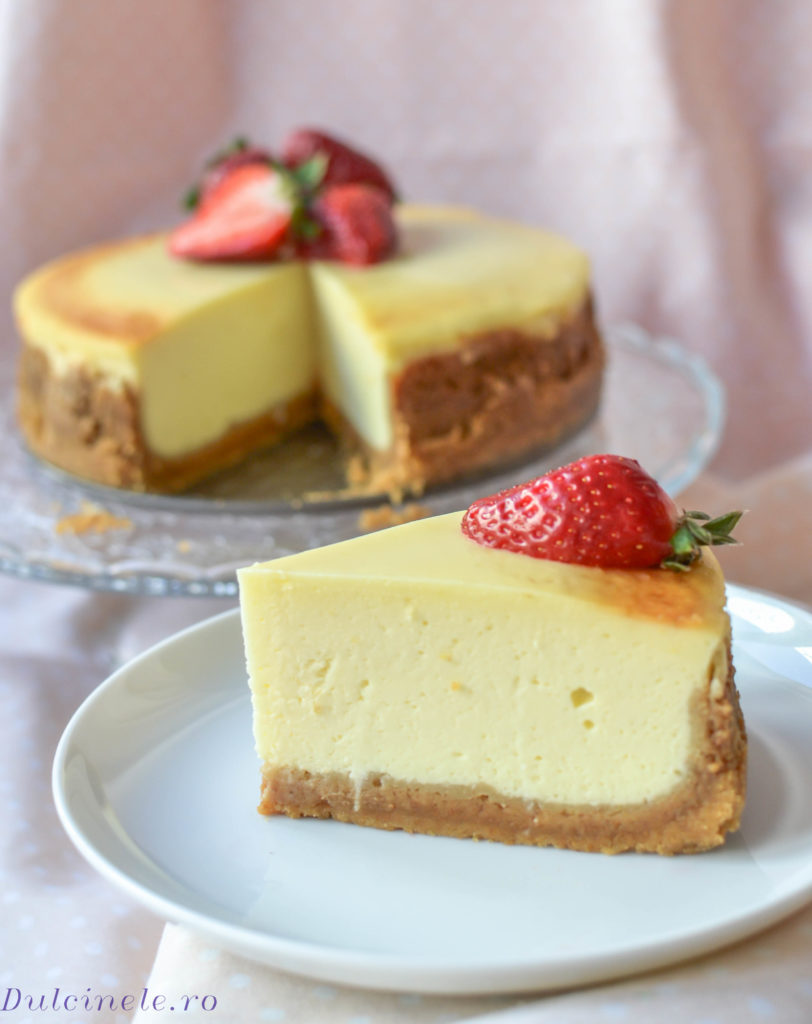 Cheesecake clasic || Dulcinele.ro