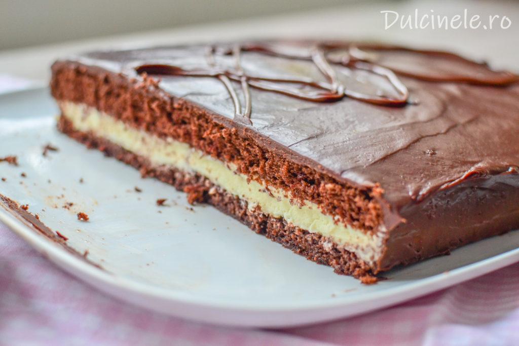 Prăjitură Kinder Délice || Dulcinele.ro