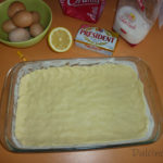 Prăjitură simplă cu blat crocant și cremă de lămâie || Dulcinele