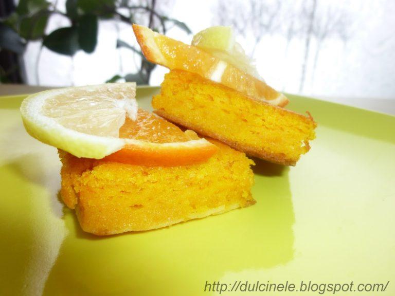 Milla – Prăjitură cu dovleac și făină de mălai