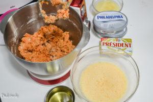 Tort cu morcovi, ananas și cocos