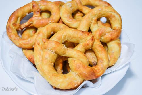 Covrigi de casa - German pretzel
