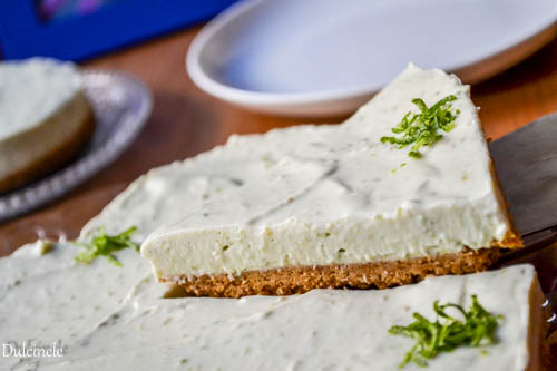 Cheesecake avocado fără coacere