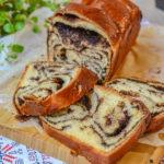 Cozonac polonez cu ciocolată (Chocolate Babka) DULCINELE