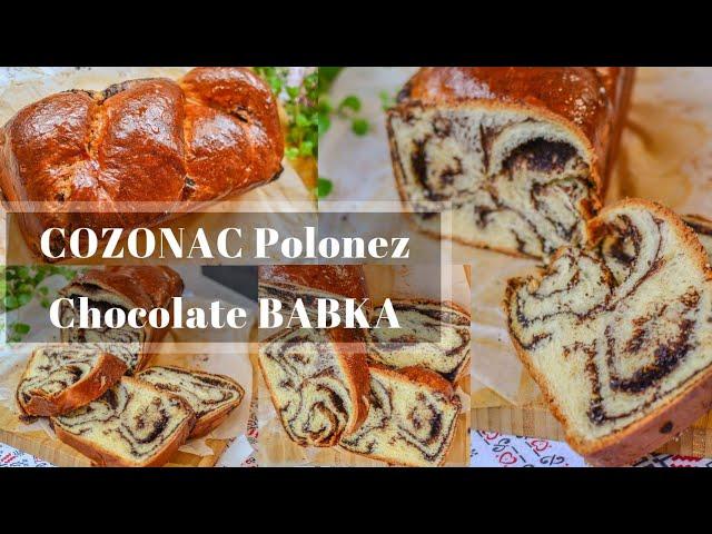 Cozonac polonez cu ciocolată (Chocolate Babka) – rețetă VIDEO update 2018