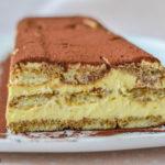 Prăjitură Tiramisu cu pișcoturi de casa
