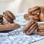 Macarons cu ciocolată