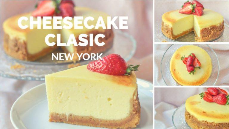 "Cheesecake clasic ""New York"" – rețetă VIDEO"