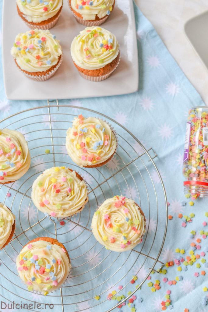 Crema de vanilie pentru cupcake