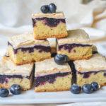 Prăjitură cu afine și bezea (Torta Slava)