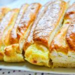 Plăcintă pufoasă cu brânză sărată