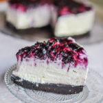 Cheesecake cu biscuiți Oreo și afine || Dulcinele