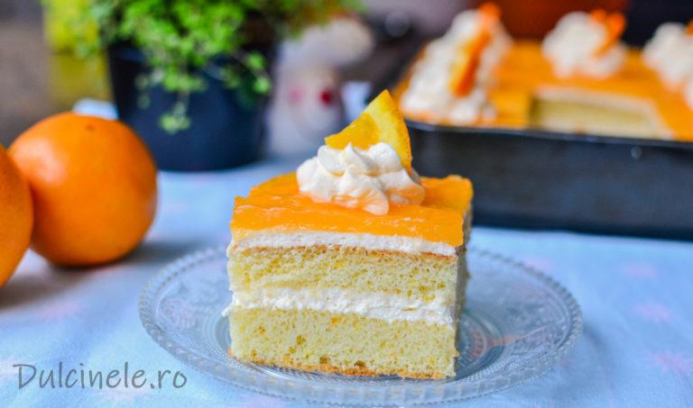 Prăjitură Oranjadă – rețeta VIDEO