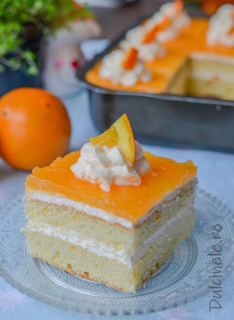 Prăjitură Oranjadă || Dulcinele