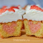 Cupcakes de Sf. Valentin || Dulcinele