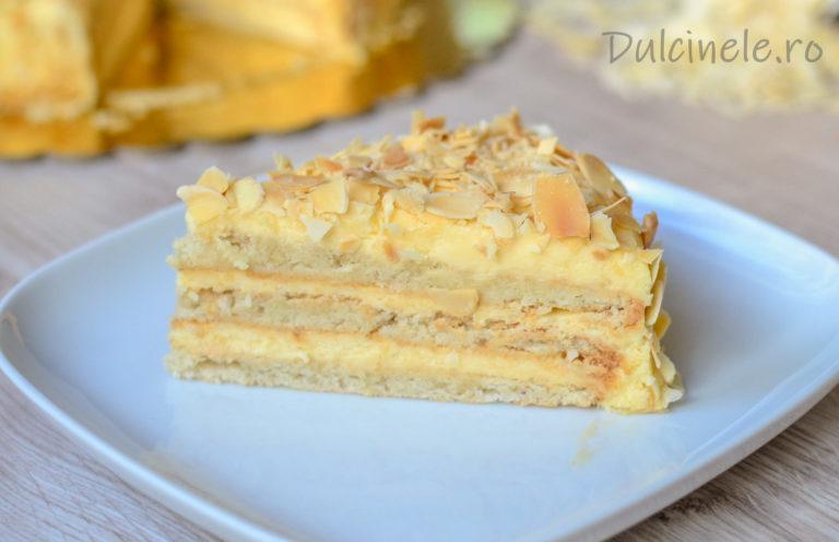 Tort suedez cu migdale (prăjitură fără gluten) – rețetă VIDEO