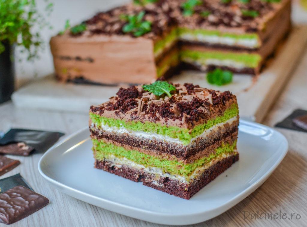Prăjitură After Eight || Dulcinele.ro